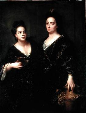 Portrait of Two Actresses