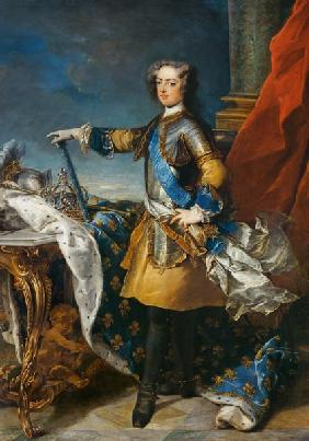 Portrait of Louis XV (1710-74) King of France