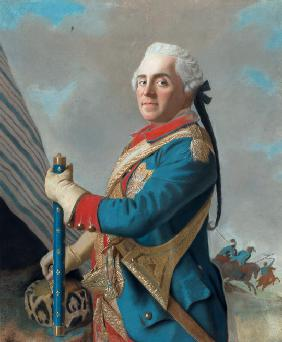 Portrait of Maurice de Saxe (1696–1750), Marshal of France