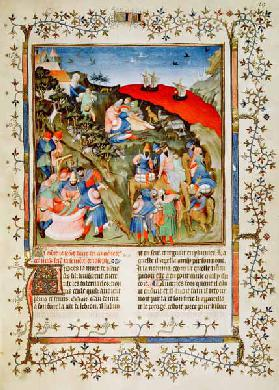 Ms Fr.247 f.25 The Story of Joseph, illustration, from ''Antiquites Judaiques'', c.1470  (see also 3