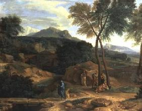 Landscape with Conopion Carrying the Ashes of Phocion