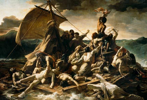 Radeau de la Méduse, Jean-Louis Théodore Géricault,