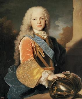 Portrait of Ferdinand de Bourbon and Savoy (1713-59) Prince of Asturias