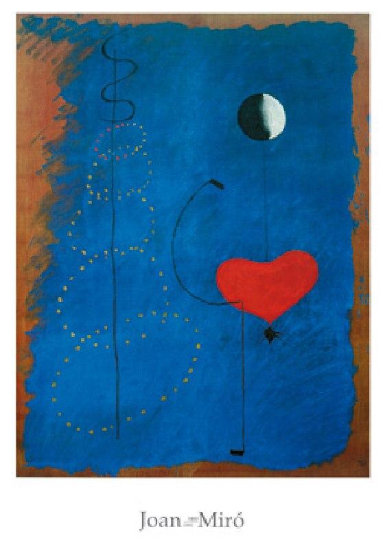 Danseuse Ii 1925 Poster De Joan Miro En Reproduction Imprimee Ou Copie Peinte A L Huile Sur Toile