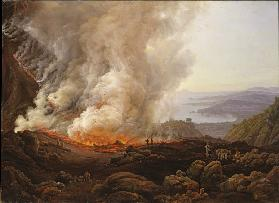 The Eruption of Vesuvius in December 1820