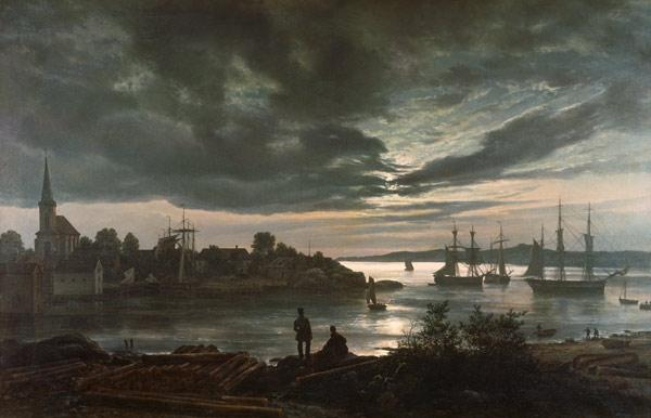 Larvik by Moonlight