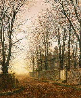 Grimshaw, John Atkinson : In the Golden Olden Time