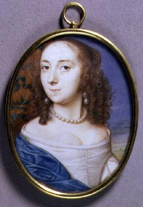 Portrait Miniature of Lady Margaret Coventry