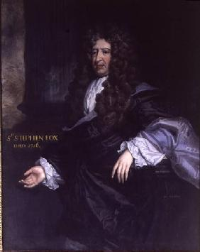Sir Stephen Fox (1627-1716) Paymaster General