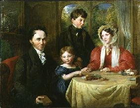 W.A. Garrett and Family