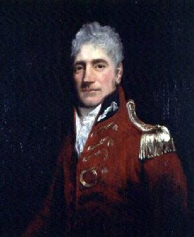 Possibly a portrait of Major General Lachlan Macquarie (1761-1824), Governor of New South Wales 1809