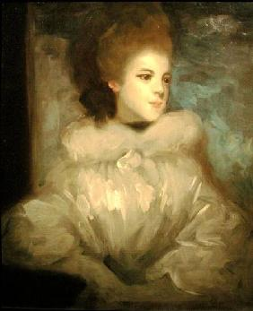 Mrs Francis Abington (1737-1815), after Joshua Reynolds (1723-92)