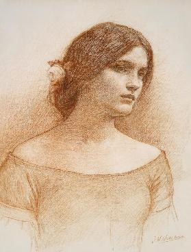 Study for 'The Lady Clare'