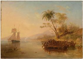 The rescue of William D'Oyly
