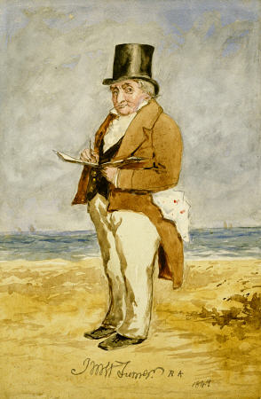 Portrait de William Turner en reproduction imprimée ou peinte