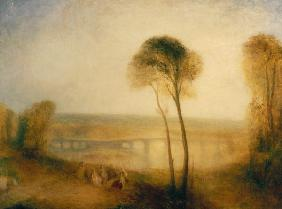 Landscape with Walton Bridges