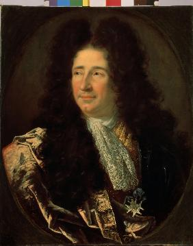 Portrait of the architect Jules Hardouin-Mansart (1646-1708)