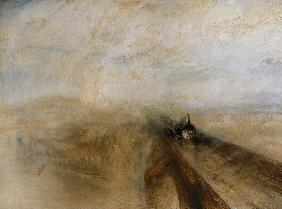Rain Steam and Speed, The Great Western Railway, painted before 1844