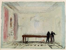 Billiard players at Petworth House