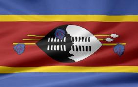 Swaziland Flagge