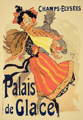 Reproduction of a poster advertising the 'Palais de Glace', Champs Elysees, Paris