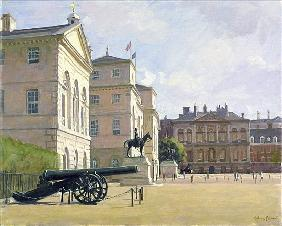 Horseguards (oil on canvas)