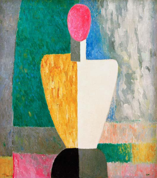 Malevich / Torso (Figure with pink face)
