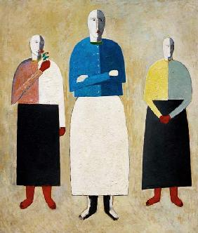 Malevich / Three Girls / 1928/32
