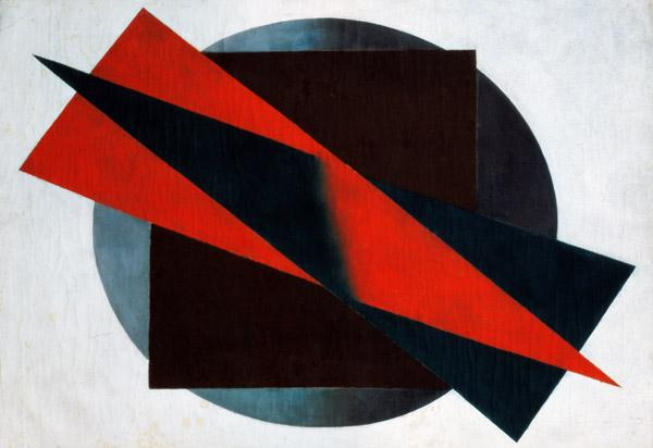 Suprematism, 1932 (oil on canvas)