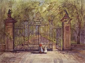 The Garden Gates, Grays Inn