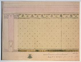 Curtain design for the mime The Marquise's Heart