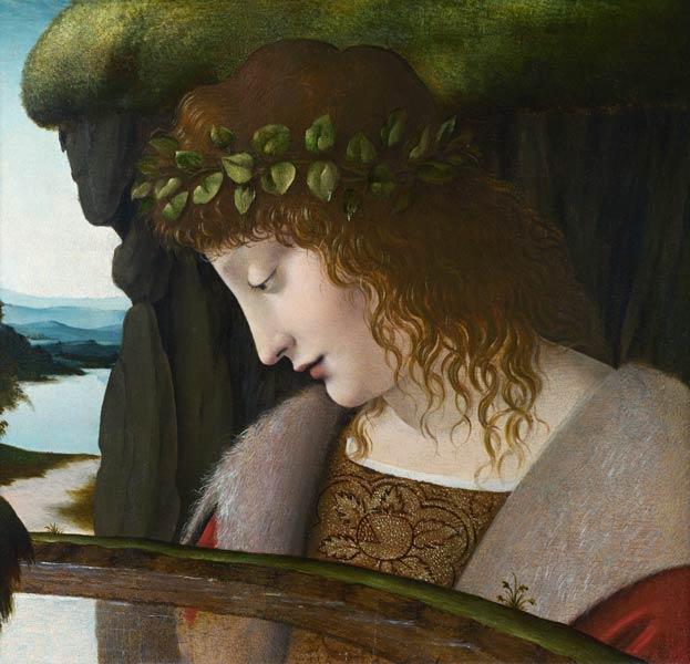 Narcissus Leonard De Vinci En Reproduction Imprimee Ou Copie Peinte A L Huile Sur Toile