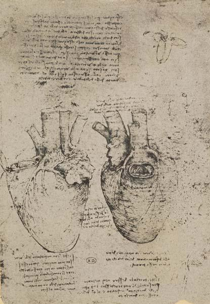 The Heart, facsimile of the Windsor book