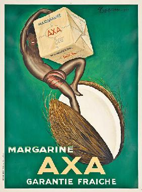 Poster advertising Axa margarine