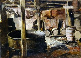 The Old Brewery, 1895 (oil on canvas)