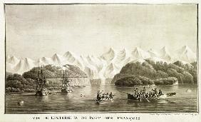 Le Port des Francais, Alaska, from ''Voyage de La Perouse'', July 1786(see also 169018)