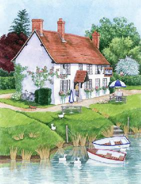 The Boat Inn, 2003 (w/c on paper)