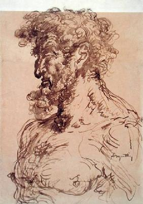 Bust of a Man (Self Portrait)