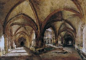 The Cloisters of St. Wandrille
