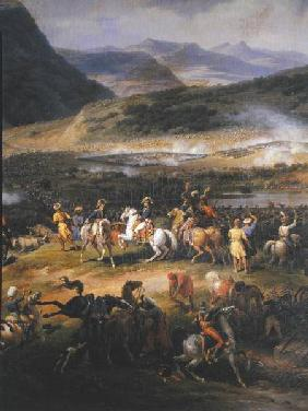 Battle of Mount Thabor, 16th April 1799, detail of Napoleon and his Staff