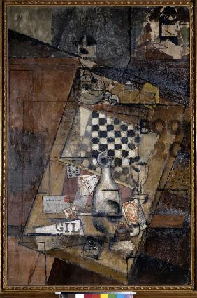 Still life with a chessboard