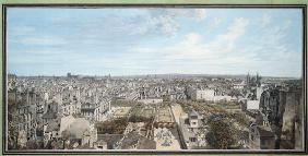 Panoramic View of Paris Towards the North