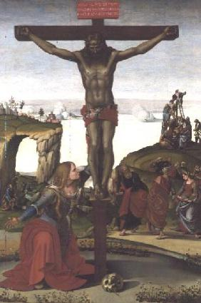Crucifixion with Mary Magdalene