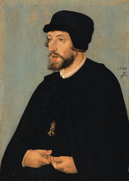 portrait de Ferdinand I, empereur romain-germanique (1503-1564)