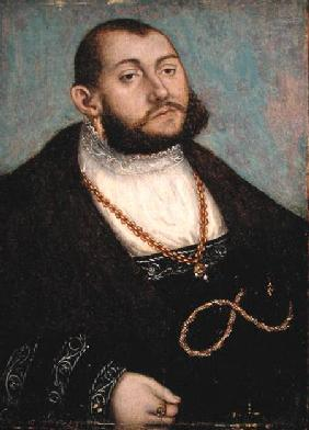 Portrait of Elector Johann Friedrich the Magnanimous (1503-53) of Saxony