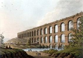 Aqueduct near Belgrade, Serbia, plate 6 from 'Views in the Ottoman Dominions', pub. by R. Bowyer