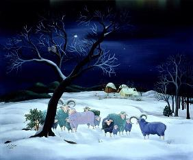 Silent Night, Holy Night, 1995 (oil on canvas)