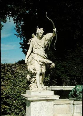 Diana the Huntress, from the Fontaine de Diane