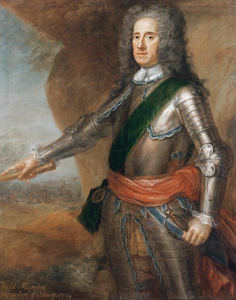 Field Marshal George Hamilton (1666-1737) Earl of Orkney