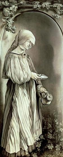 St. Elizabeth of Hungary (1207-31) 1509 (grisaille)
